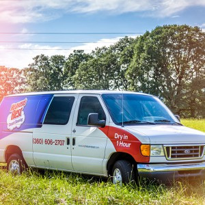 Heavens Best Carpet Cleaning Van